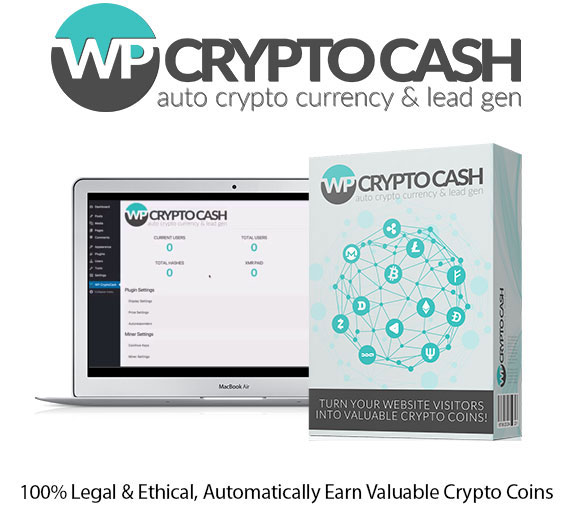 WP Crypto Cash WordPress Plugin PRO Instant Download