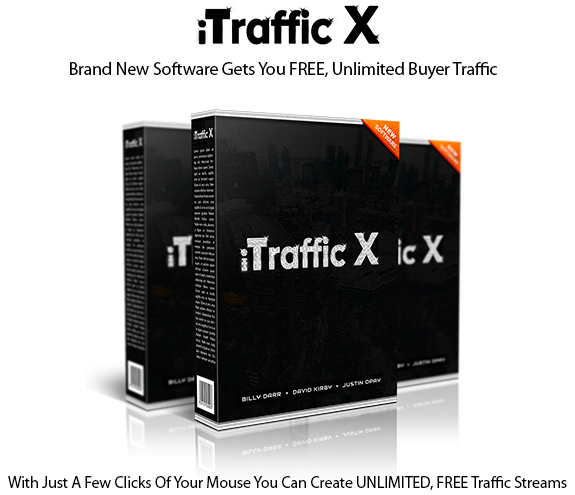 iTraffic X Software Instant Download Platinum Edition By Billy Darr