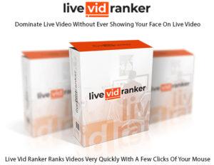 Live Vid Ranker Software Instant Download Pro License By Ali G
