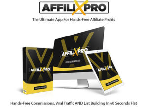 AffiliXPro Software Pro License Instant Download By Mosh Bari