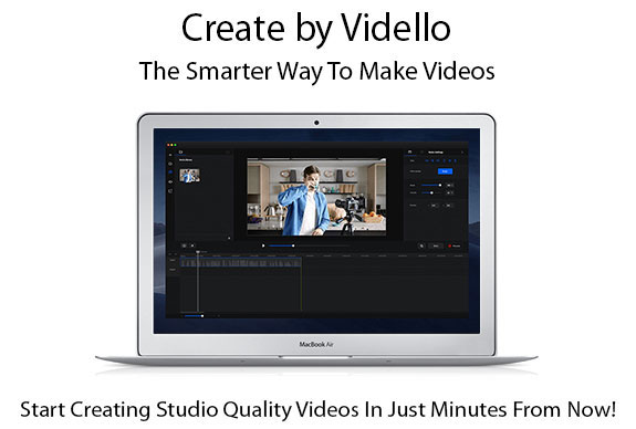 Create by Vidello Pro License Instant Download By Sam Bakker