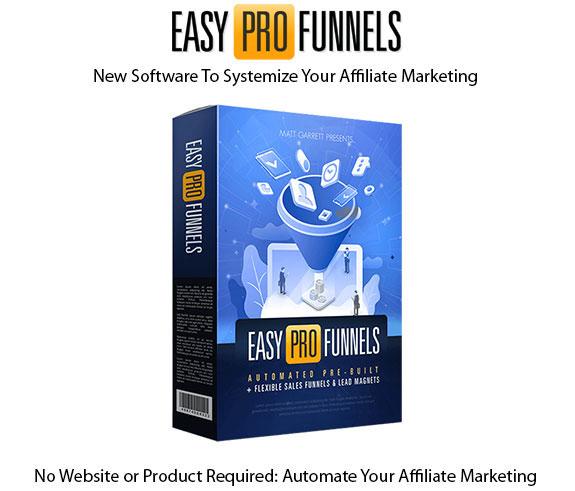 Easy Pro Funnels Software Instant Download Pro License By Matt Garrett