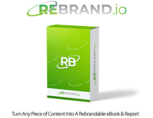 Rebrand.io Rebrandable Software Instant Download By Nick James