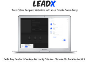 LeadX Software Pro License Instant Download By Mike Koller