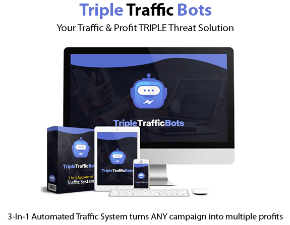 Triple Traffic Bots Instant Download Pro License By Glynn Kosky