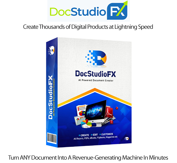 DocStudioFX Software Instant Download Pro License By Dr Ope Banwo