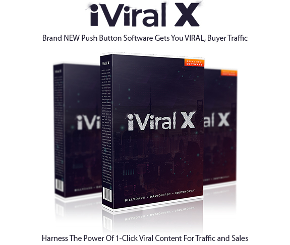 iViralX Software Instant Download Pro License By Billy Darr