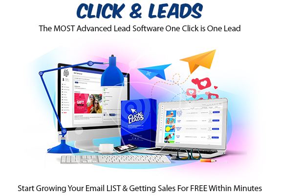 Click&Leads Software Instant Download Pro License By Ariel Sanders