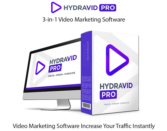 HydraVid Pro Software Instant Download Pro License By Walt Bayliss