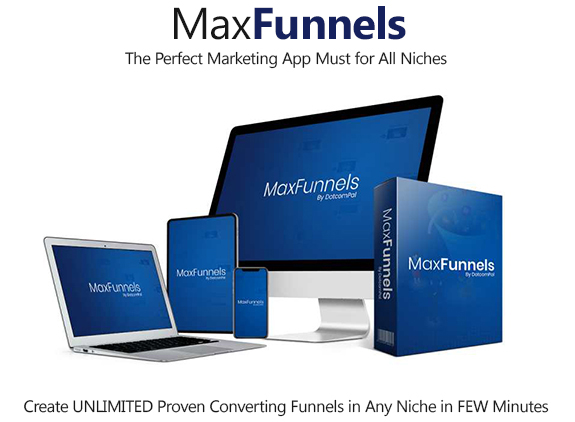 MaxFunnels Software Commercial Instant Download By Dr. Amit Pareek