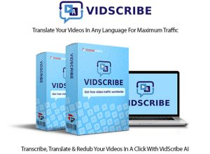 VidScribe AI Software Instant Download Pro License By Cyril Gupta