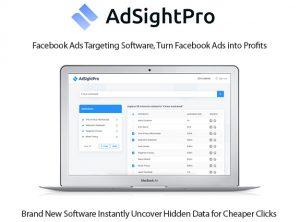 AdSight Pro Software Instant Download Commercial By Sam Bakker