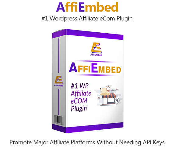 AffiEmbed WordPress Plugin Instan Download Pro License By Able Chika