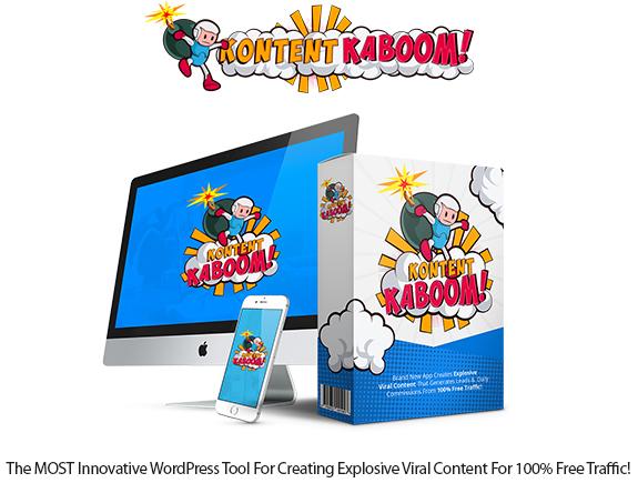Kontent Kaboom WP Plugin Instant Download Pro License By OJ James