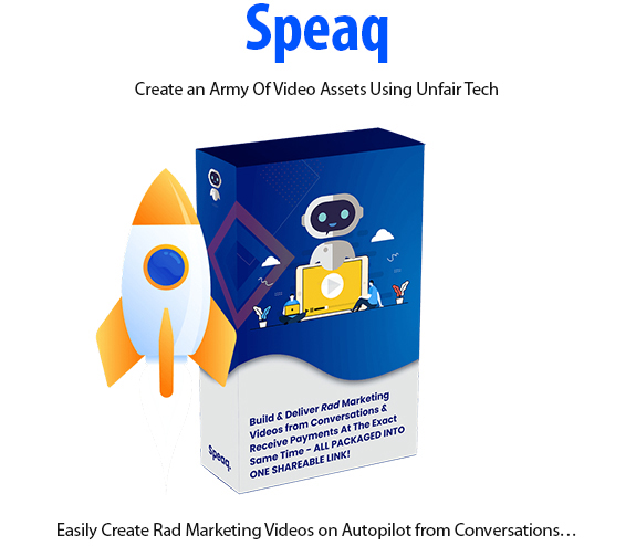 Speaq Software Instant Download Pro License By Brad Stephens