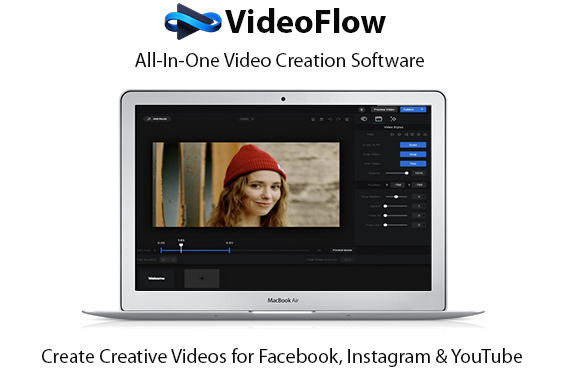 VideoFlow Video Creation Software Instant Download Pro License