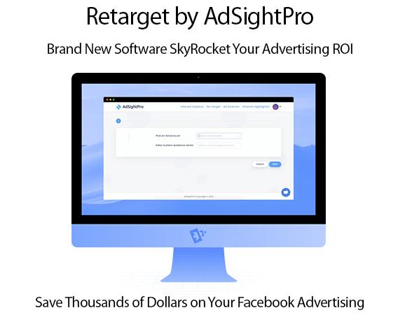 Retarget by AdSightPro Software Instant Download By Sam Bakker
