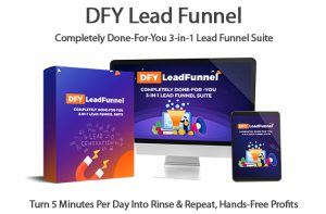 DFY Lead Funnel Software Instant Download Pro License By Victory Akpos