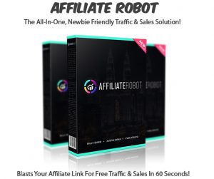 Affiliate Robot Software Instant Download Pro License By Billy Darr