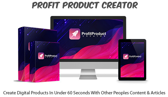Profit Product Creator Software Instant Download By Glynn Kosky